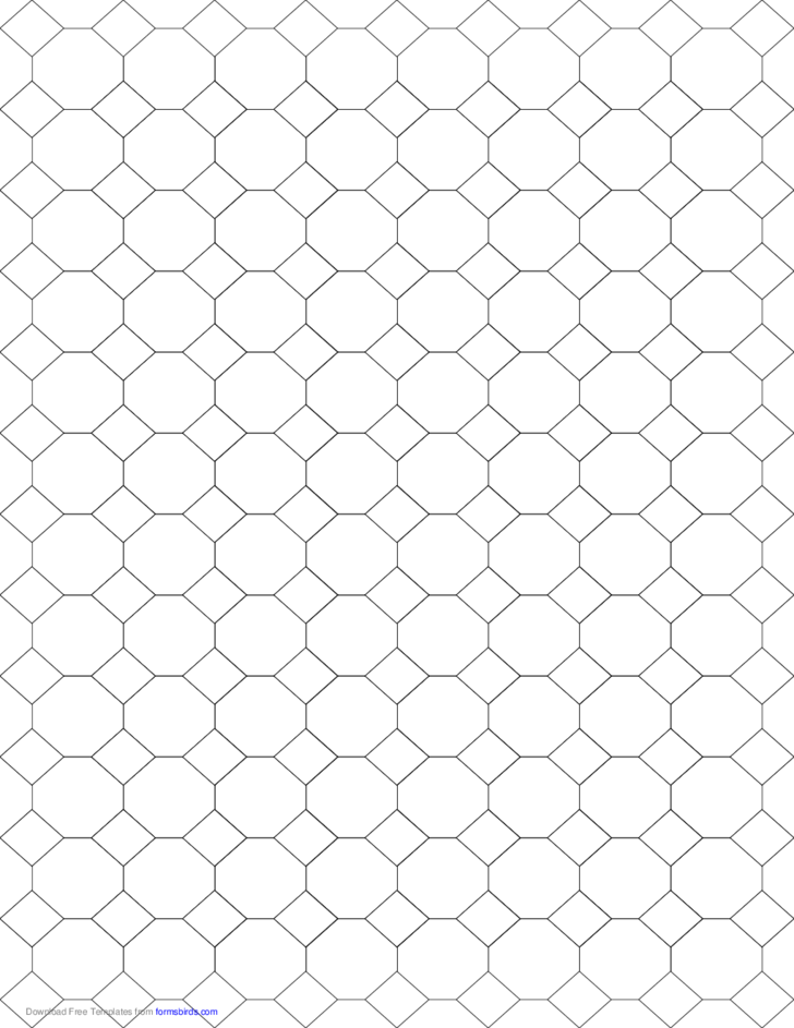 tessellation graph paper  4 8 8  free download