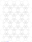Tessellation Small Graph Paper (3.4.6.4, 4.6.12)