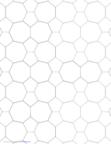 Tessellation Small Graph Paper (5.7.7, 5.7.5)
