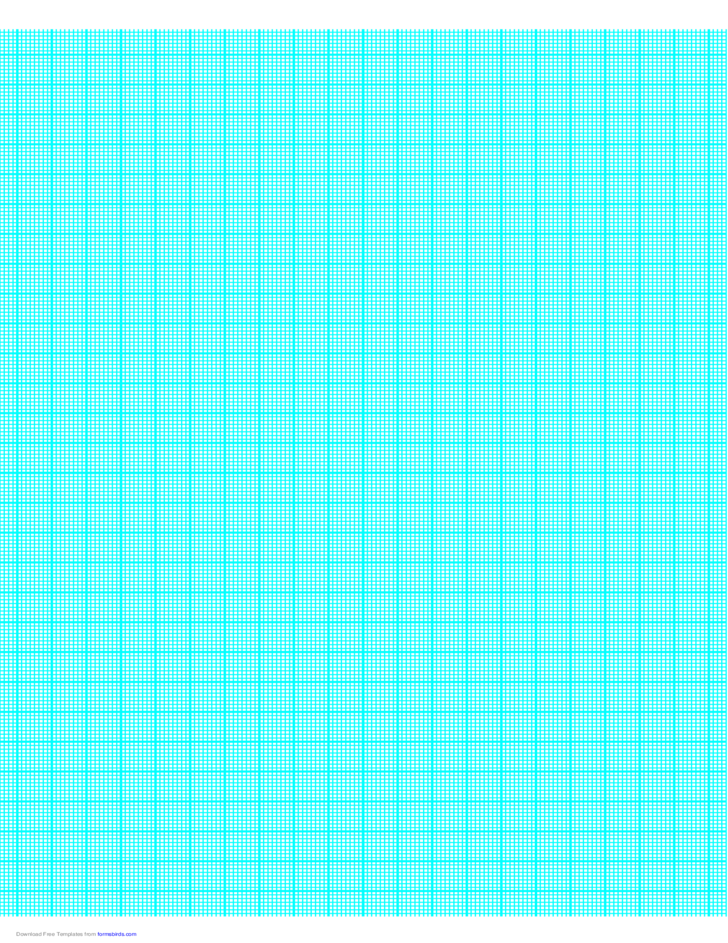 8 Lines per cm Graph Paper on A4-Sized Paper (Heavy)