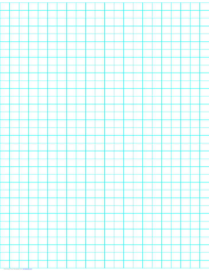 2 Lines per Inch Graph Paper on Ledger-Sized Paper (Heavy)