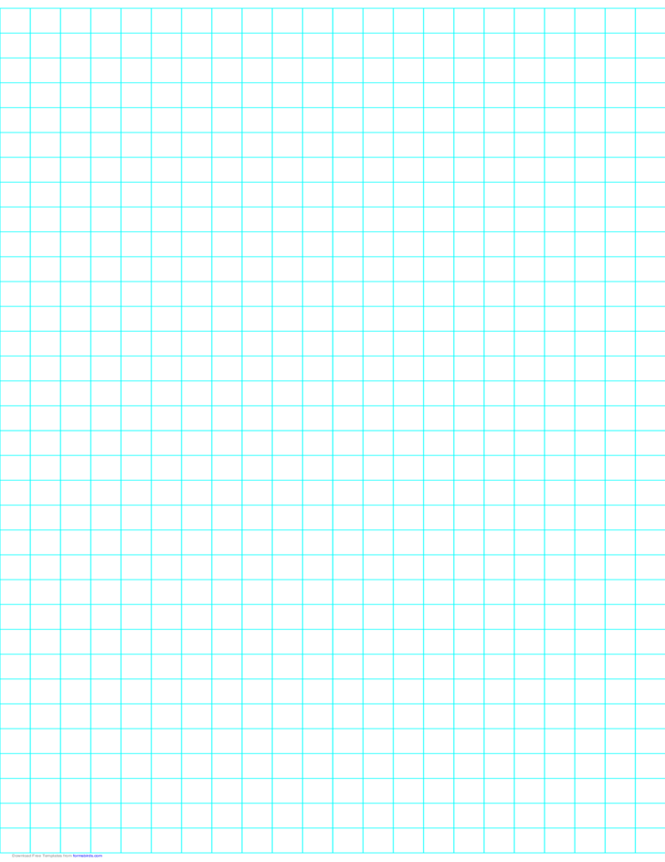 2 Lines per Inch Graph Paper on Ledger-Sized Paper