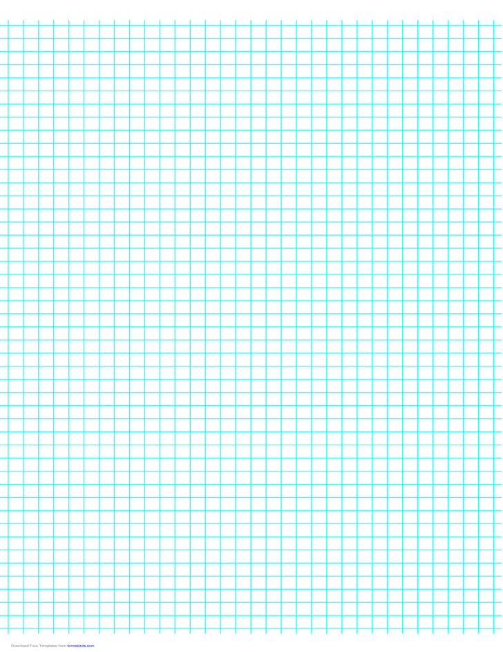 4 Lines per Inch Graph Paper on A4-Sized Paper
