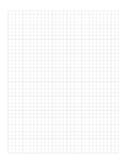 Full Page Blank Graph Paper
