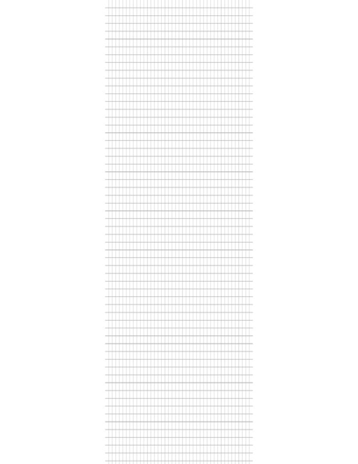 Graph Paper 5 mm A4 Size Template