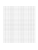 3 mm A4 Size Blank Graph Paper Template