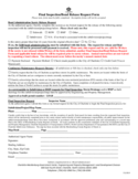 Bond Release Request Form - Charlotte Free Download