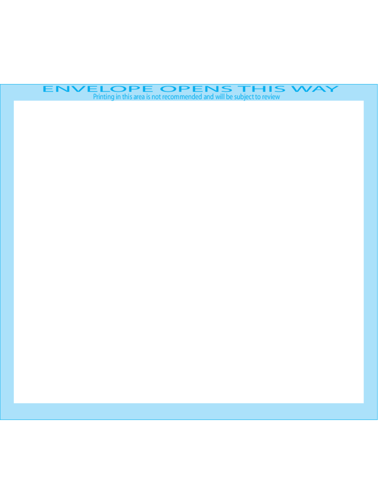 Booklet Envelopes 4 3/4 x 6 1/2 - Front