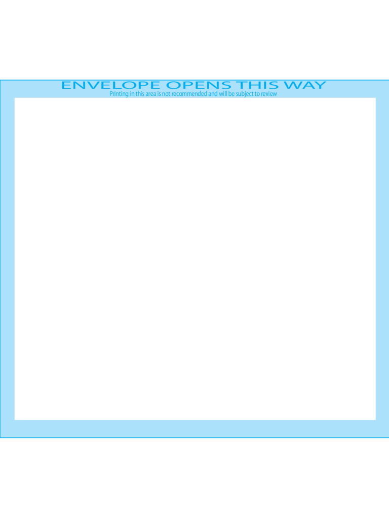 Booklet Envelopes 5 1/2 x 7 1/2 - Front