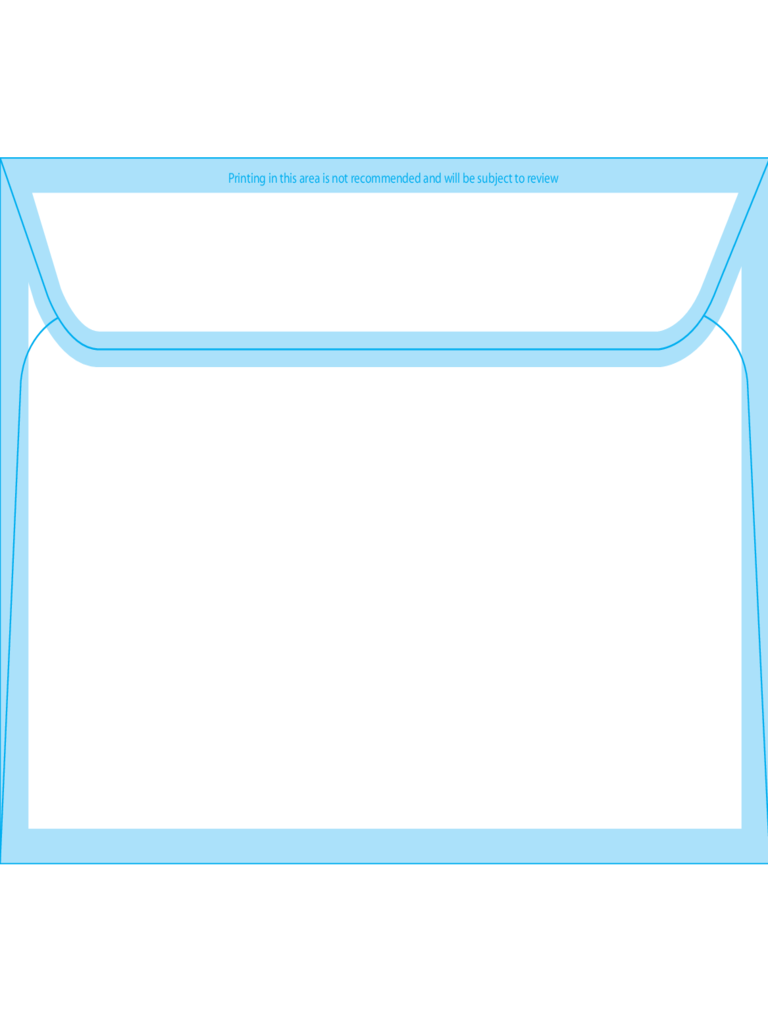 Booklet Envelopes 5 1/2 x 7 1/2 - Back