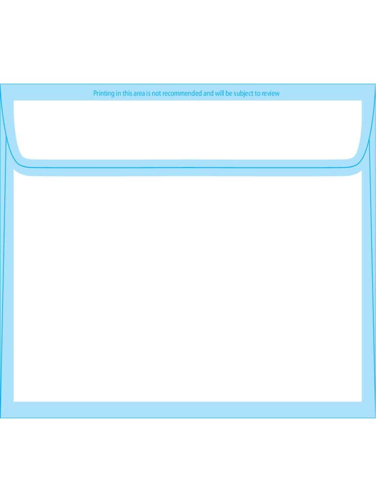 Booklet Envelopes 4 3/4 x 6 1/2 - Back