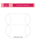 Pillow Box Template Free Download