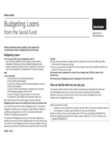 Budgeting Loans - UK Free Download