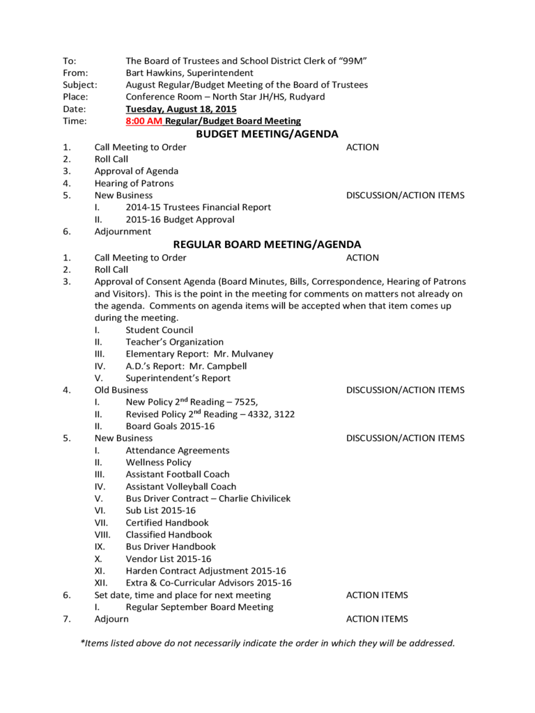 budget meeting agenda template 4 free templates in pdf