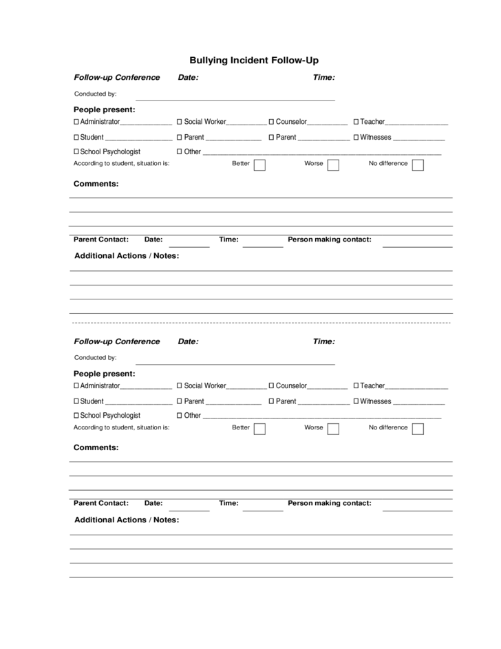 Doc585650 Free Incident Report Form Incident Report Template – Incident Report Form
