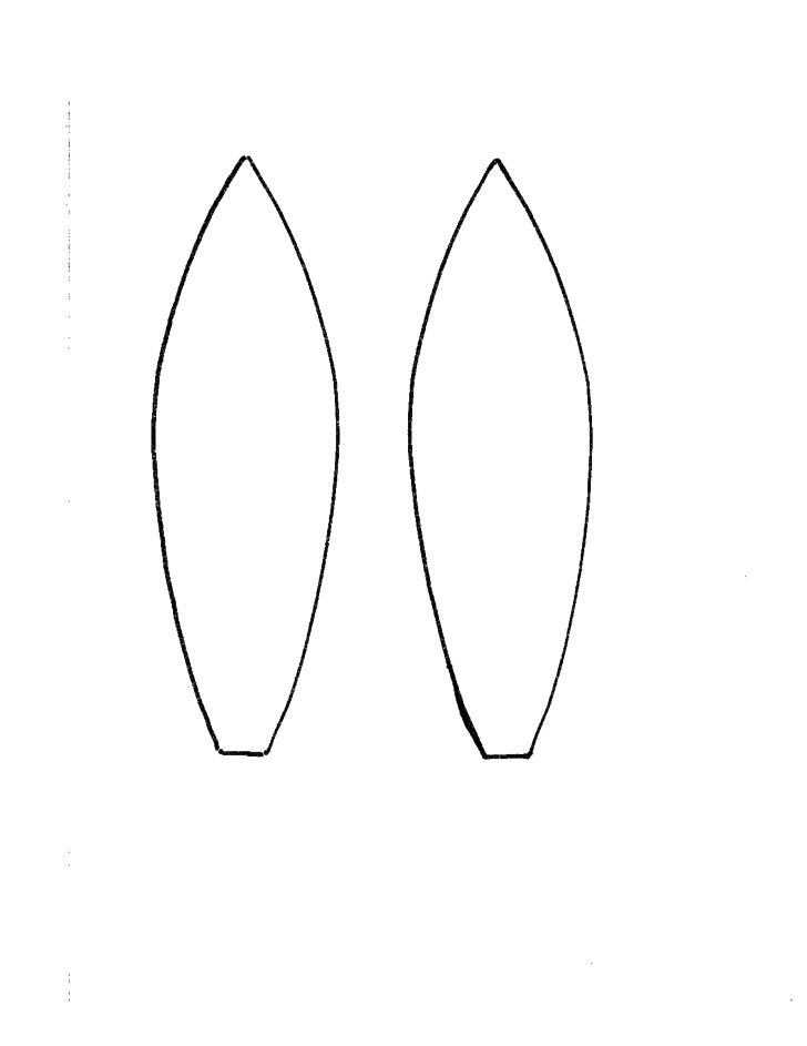 Bunny ear headband template free download for Bunny ears headband template