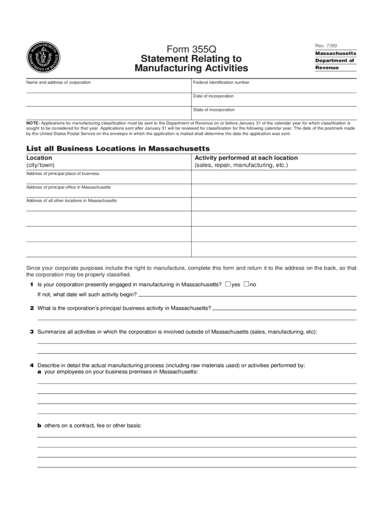 business activity statement form