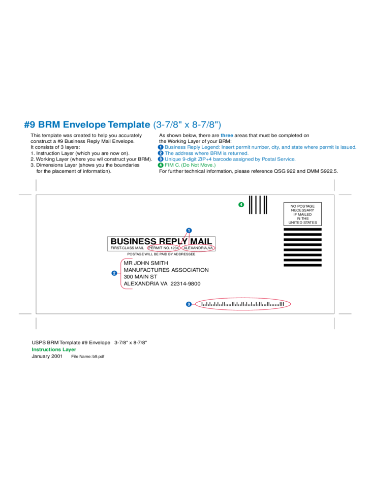 Business reply mail envelope free download 1 business reply mail envelope wajeb Images
