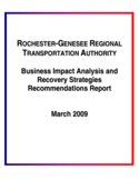 Business Impact Analysis and Recovery Strategies Recommendations Report Free Download