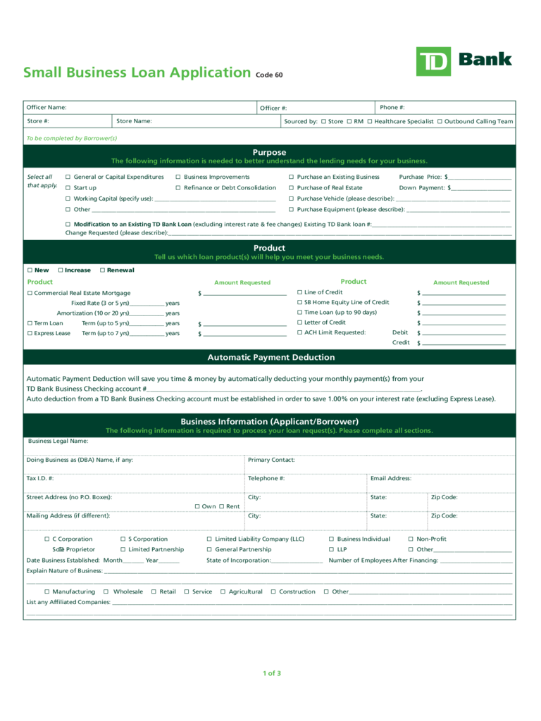 Business loan application form 2 free templates in pdf word small business loan application for loans under 100000 flashek Choice Image