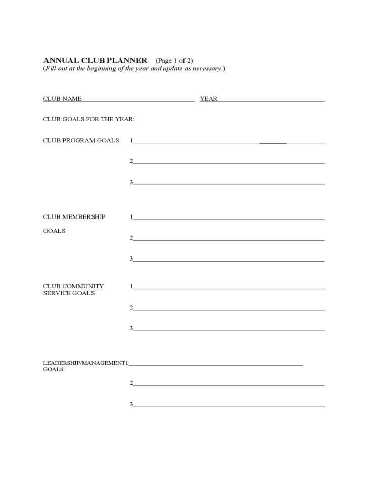 4 H Club Business Meeting Agenda Guide Free Download