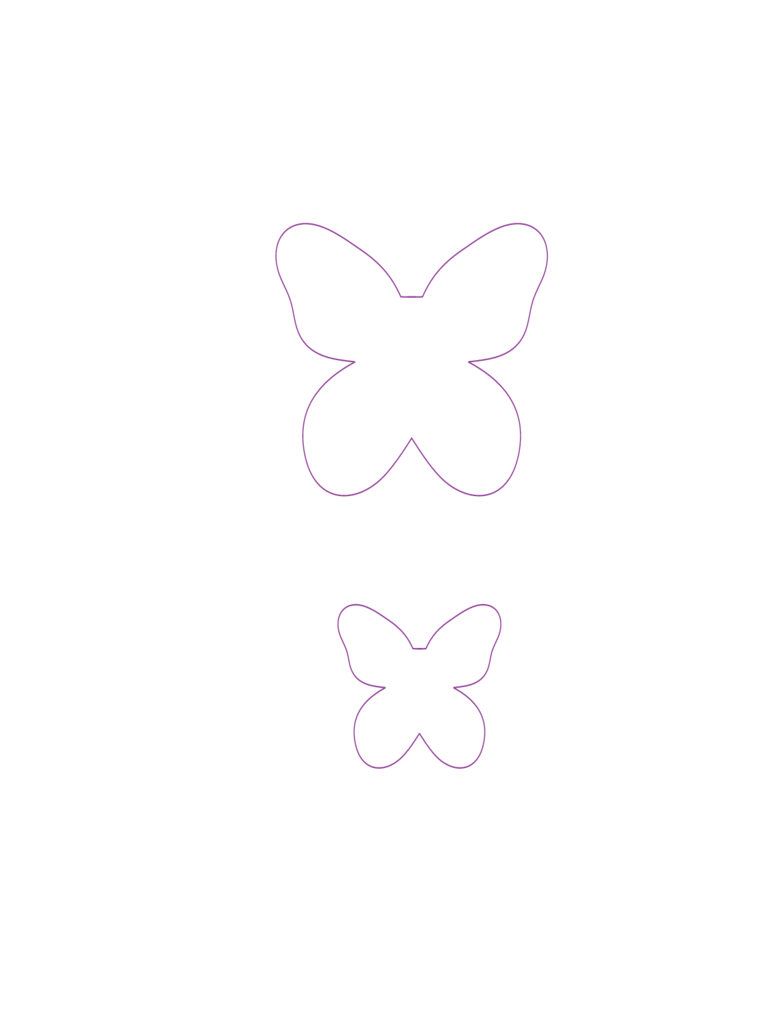 Template of Butterfly