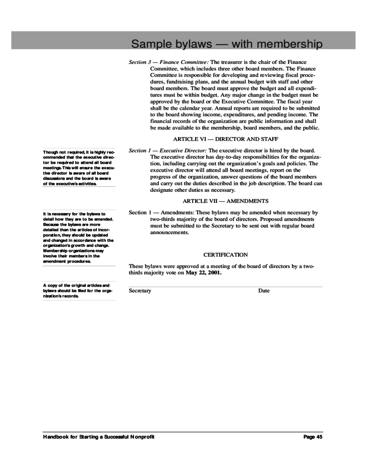 Doc575709 Bylaws Template Corporate Bylaws Template with – Club Bylaws Template
