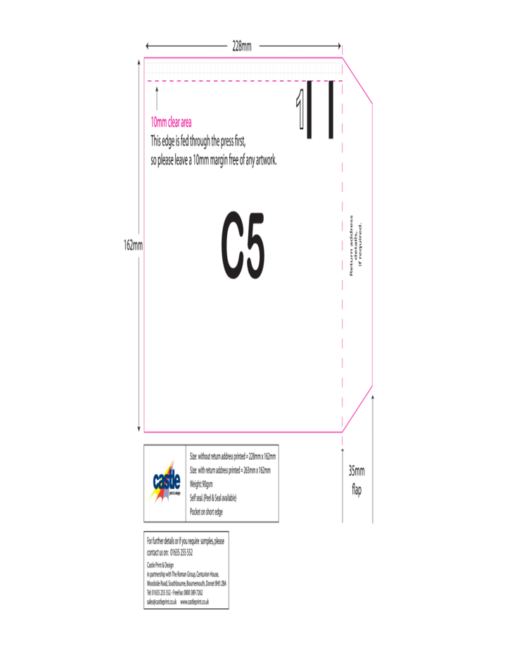 C5 Envelope Example Free Download