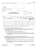 CR-180 Petition for Dismissal