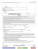 CR-250 Notice and Motion for Transfer
