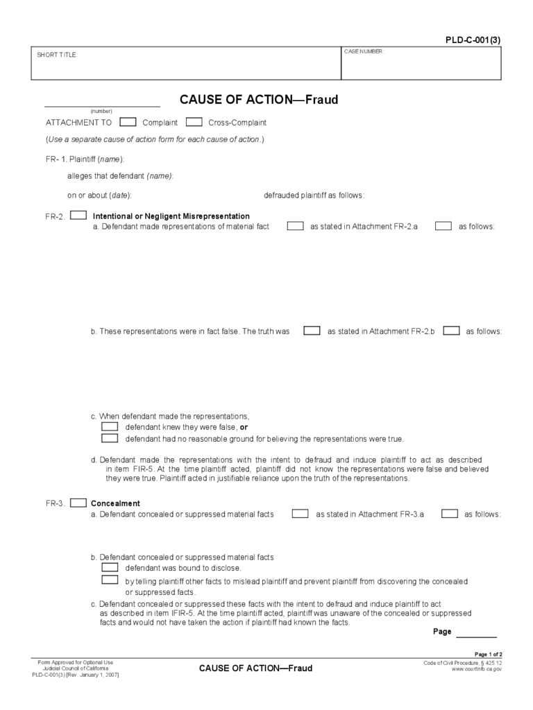 california pleading contract form 4 free templates in pdf word