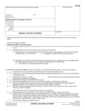 UD-105 Answer - Unlawful Detainer Free Download
