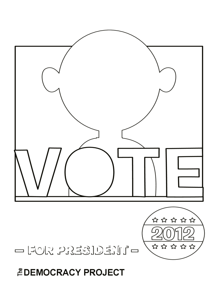 Campaign Poster Blank Template