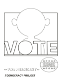 Campaign Poster Blank Template Free Download