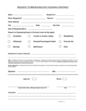 Breach Of Contract Form - Missouri Southern State University Free Download