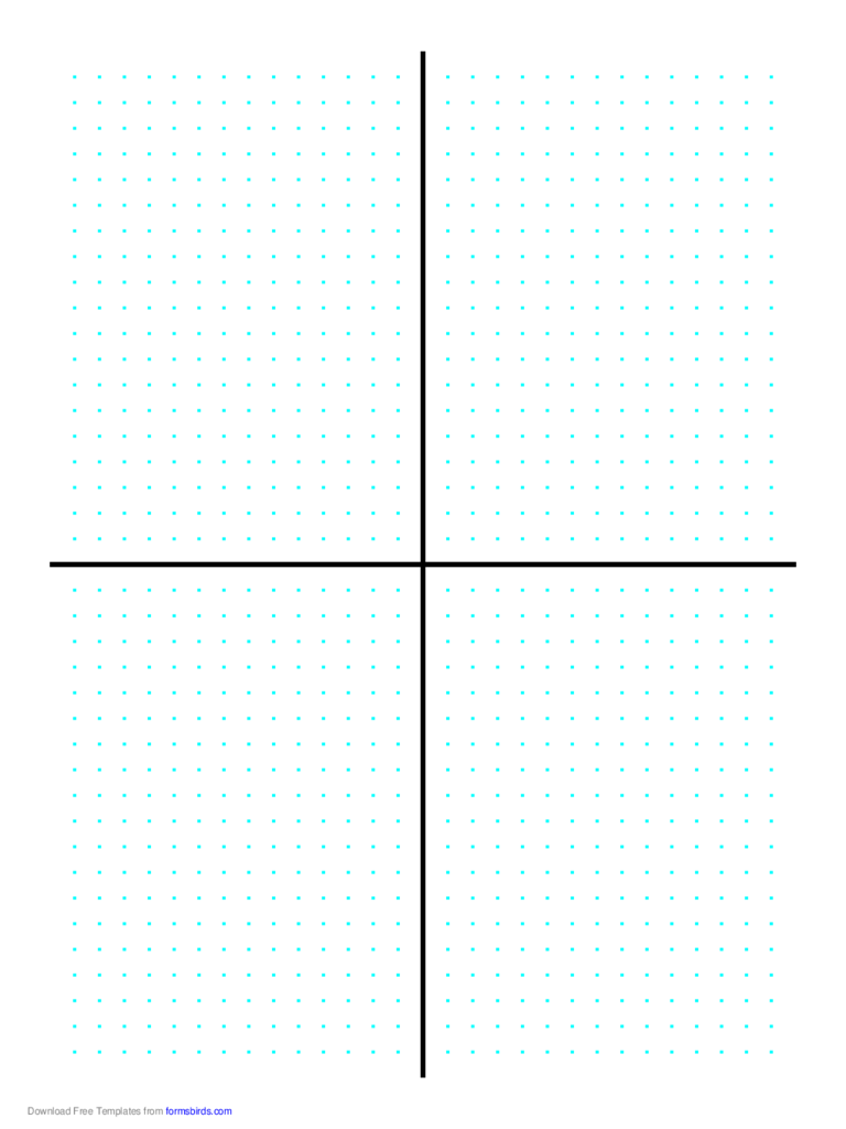 Cartesian Grid - Dots