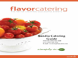 Sandia Catering Brochure Templates