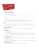 Catering Contract Free Download
