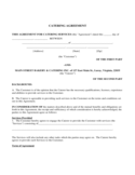 Catering Contract Form - Virginia Free Download