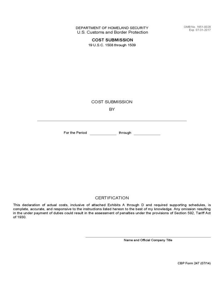 customs power of attorney instructions