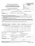 CBP Form 3171 - Application Permit Special License Unlading-Lading Overtime Services