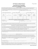 CBP Form 3347A - Declaration of Consignee When Entry is Made by an Agent
