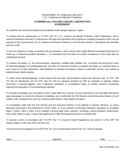 CBP Form 6478A - Commercial Gauger and/or Laboratory Agreement