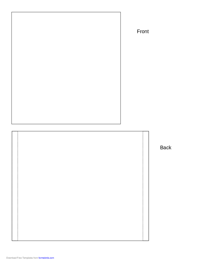 CD Envelope Template - 5 Free Templates in PDF, Word, Excel Download