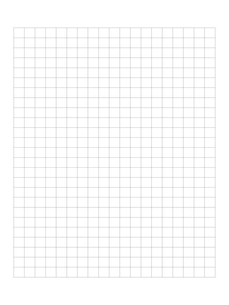 Sample Centimeter Graph Paper Template