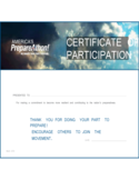 Modern Certificate of Appreciation Template Free Download