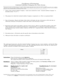 Certificate of Formation for Limited Liability Company - New Jersey Free Download