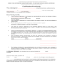 Certificate of Authority for Limited Liability Company Free Download