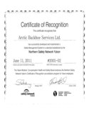 Sample Certificate of Recognition Free Download