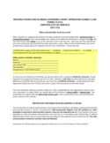 Certificate of Service Form - Florida Free Download